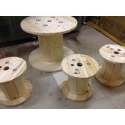 Lazi de lemn, tamburi de la Kinetech Distribution Srl