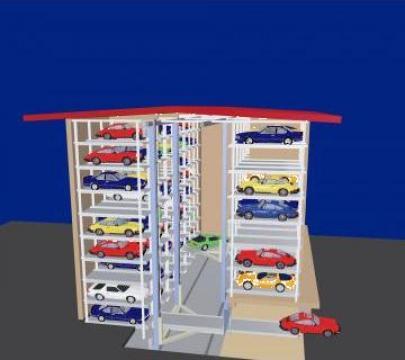 Sisteme de parcare automate de la Elmas