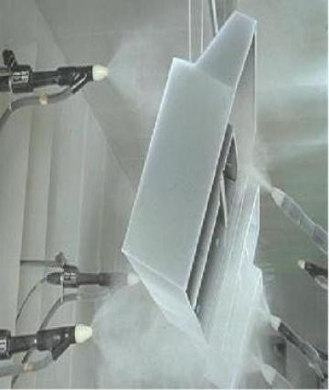 Vopsire automata cu pulberi in camp electrostatic de la Sc Brio Fresh Srl