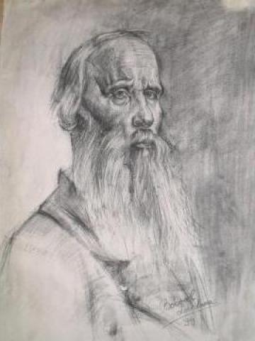 Pictura portret de la Pf Bobocel Loredana