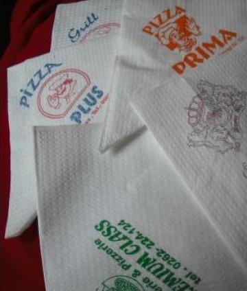 Servetele de hartie Szemelyesitett szalveta de la Up 2003 Food Srl
