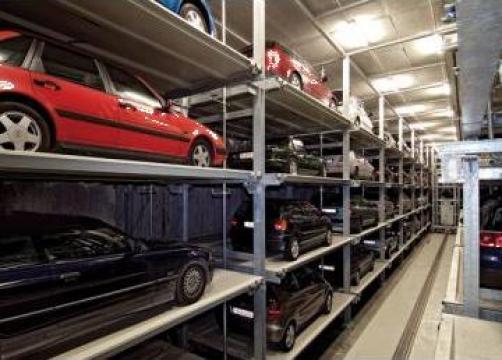 Parcari automatizate Multiparker de la Elmas