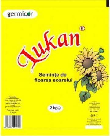 Seminte de floarea-soarelui prajite si sarate de la Germicor Srl