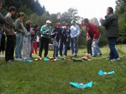 Team building de la Romanian Adventure