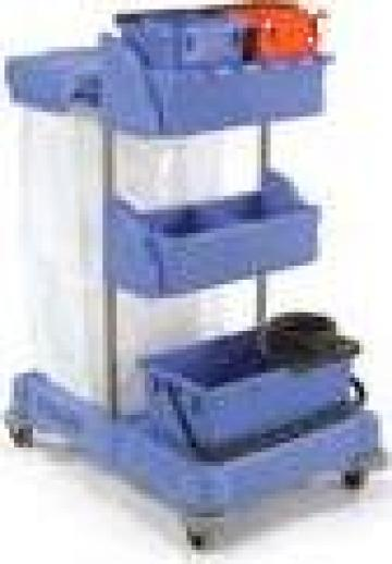 Carusel curatenie cu mop antibacterial XC2 de la Tehnic Clean System