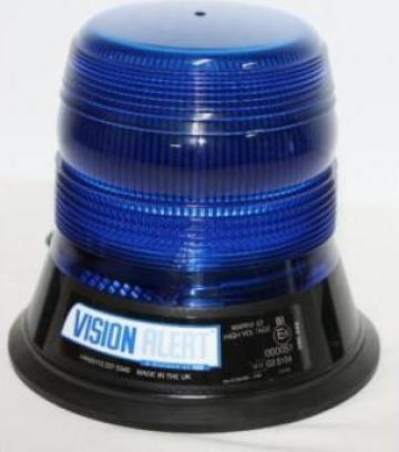Girofar albastru cu flash 80Ws de la Flashalarm Electric