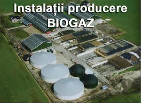 Instalatii producere biogaz de la Host Romania