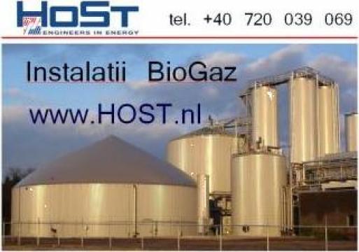 Instalatie BioGAZ de la Host Romania