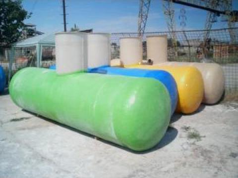 Bazin 5000 litri din fibra de sticla
