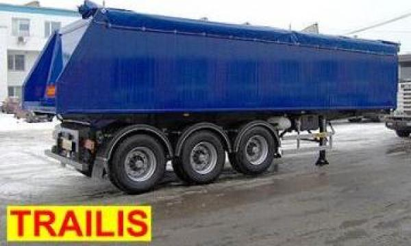 Semiremorca basculabila Trailis de la Davirom Truck& Trailer