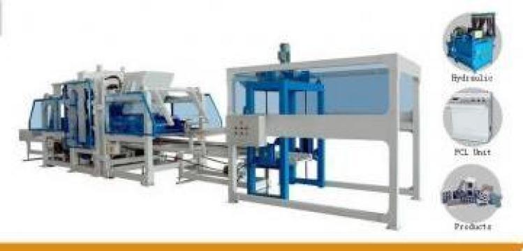 Vibroprese si linii automate pentru fabricat pavele de la Business Art M Company