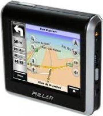 Sistem navigatie Gps Phillar Vision de la Infotronica S.r.l.