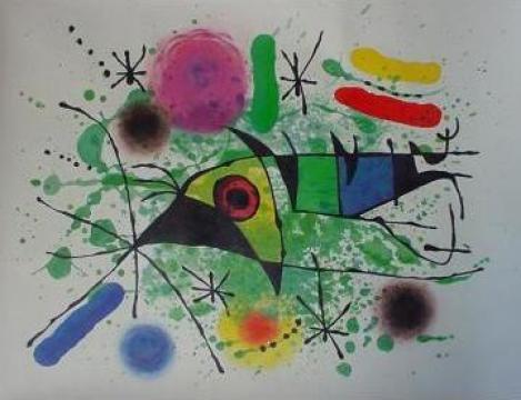 Reproducere tablou Juan Miro de la Imaginative