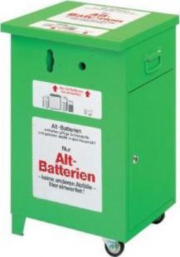 Recipient pentru baterii uzate