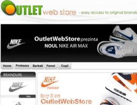 Haine sport Outlet de la Web Future Solutions