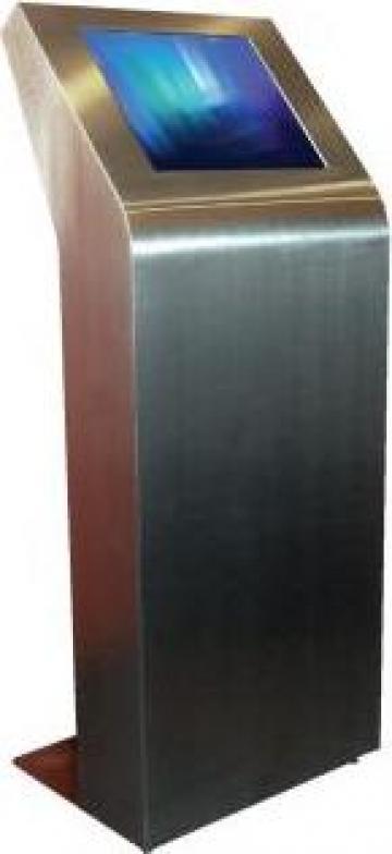 Infochiosc Museum pentru indoor, touchscreen 17-22 inch NCOM de la Sc Ncom Equipments Srl