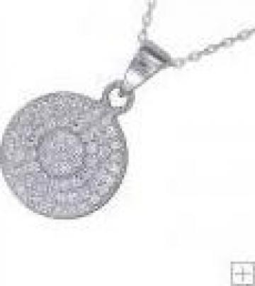 Pandantiv argint cristale Swarovski de la Jewellery 555