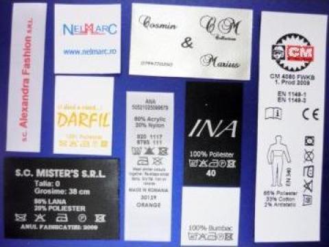 Etichete compozitii