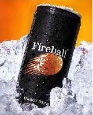 Bautura energizanta Fireball energy drink