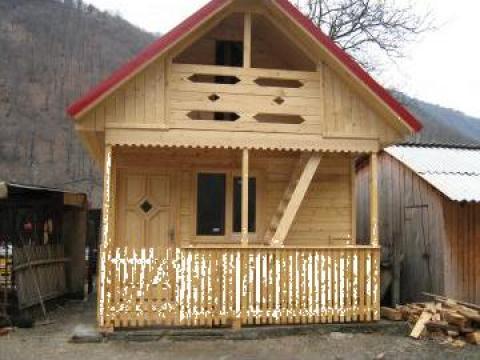 Cabane din lemn de la Vioclar Impex