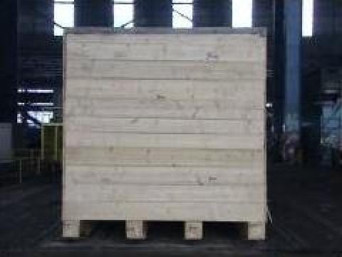 Cutie din lemn tratata ispm15
