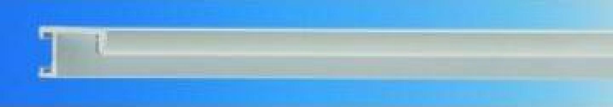 Profil aluminiu A1 albastru,auriu de la Frameart Decor Srl.