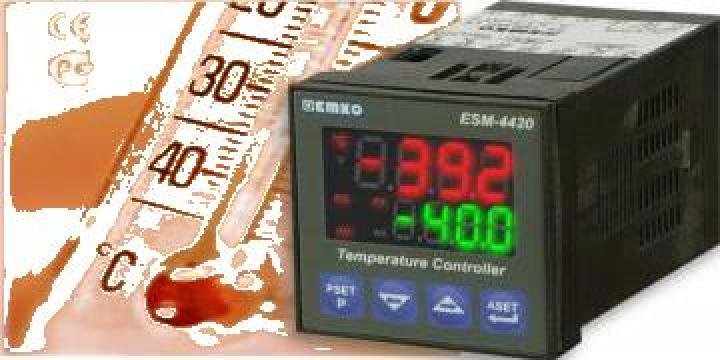 Regulatoare de temperatura si proces de la Rombest Automation & Controls Srl