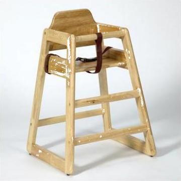 Scaun inalt pentru copii Babyminder, natural de la Hoba Ecologic Air System Srl