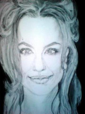 Portret cu Angelina Jolie de la A.F. Andrei Ana Cristina