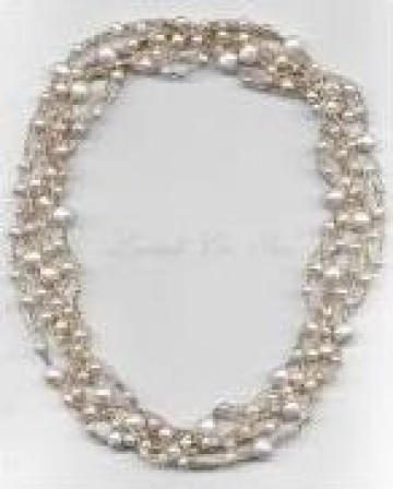 Colier cu perle Silk River de la Sc H'Art Design Srl