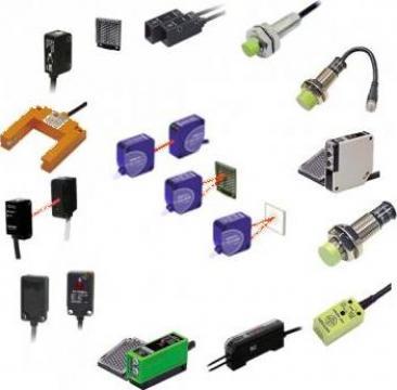 Senzori temperatura, umiditate, proximitate, fotoelectrici de la Rombest Automation & Controls Srl