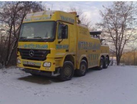 Tractari camioane de la Sc Hag Impex Srl