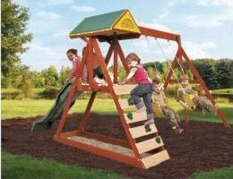 Centru de joaca pentru gradina Parkside de la Stiki Concept Srl