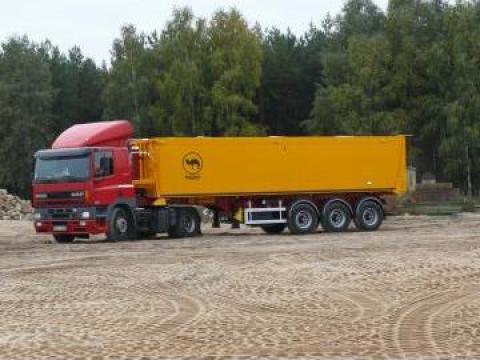 Semiremorca basculabila aluminiu Wielton NW 38 ATKD de la Sc Inter Cargo Grup Srl