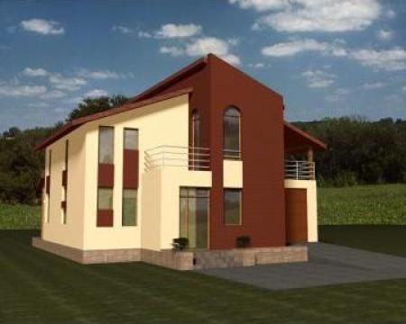 Proiecte case casa ana bucurasti sc art architecture for Proiecte case cu garaj