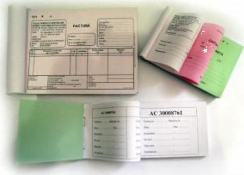 Tipizate contabile fiscale de la Sc Sunny Office Srl