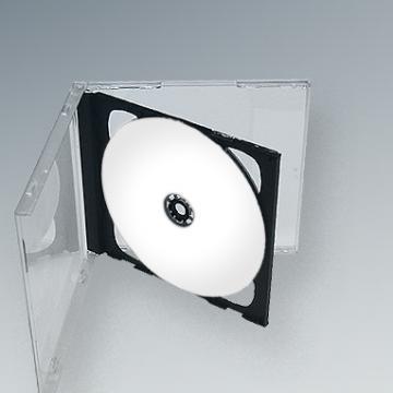 Carcasa CD Dubla interior negru sau transparent de la Top Production Srl