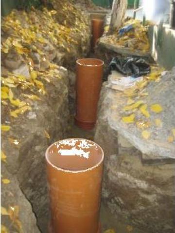 Executie lucrari de canalizare si alimentare cu apa de la Termone Instal Srl