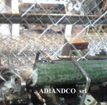 Plasa impletita din sarma zincata, gard 2,2mm 1,5x10m