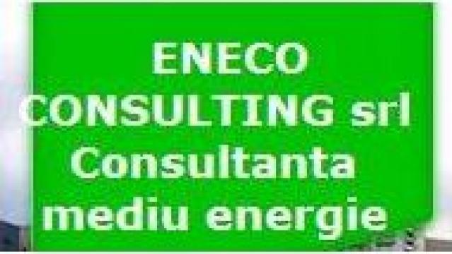 Bilant energetic cu autorizare ARCE de la Eneco Consulting Srl