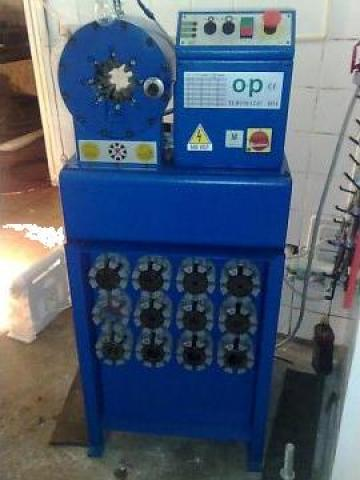 Masina de sertizat furtunuri hidraulice de la Sc Redsand Hidraulics Srl