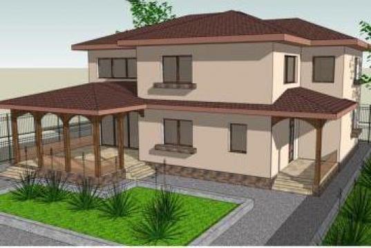 Proiect casa cu terasa bucuresti ela design id 352805 for Case cu terase