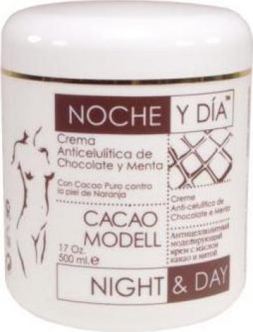 Crema anticelulitica cu ciocolata si menta, 500 ml de la Contrast Impex S.r.l