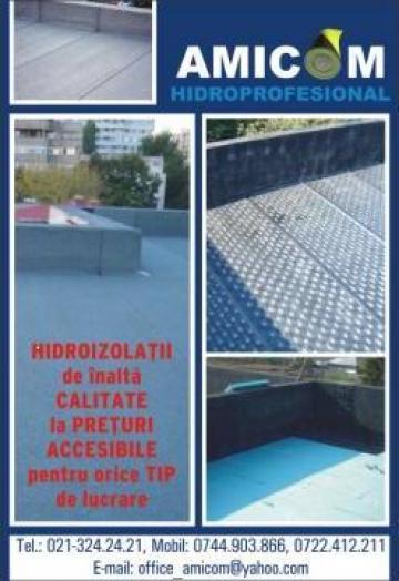 Hidroizolatii profesionale de la Amicom Hidro Expert