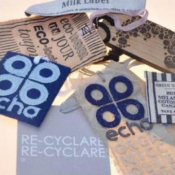 Etichete tesute, imprimate si de carton