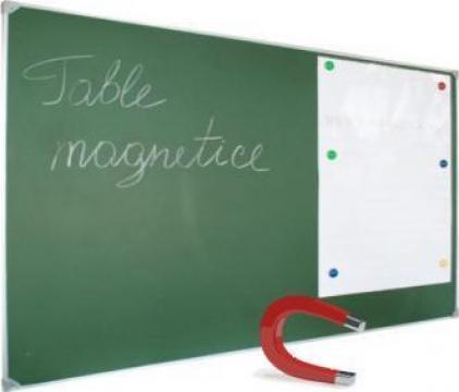 Tabla scolara verde 2000x1200 mm de la Eurodidactica Srl