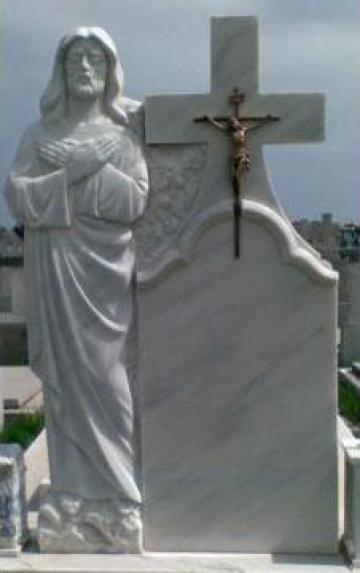 Monumente funerare, seminee, placi