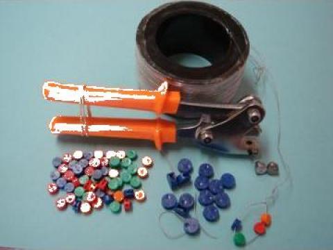 Sigilii plumb, inlocuitor plastic 9 si 13 mm
