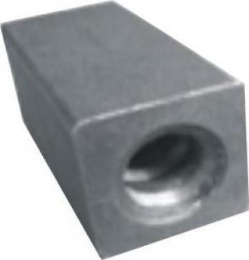 Piulita dreptunghiulara conectoare, filet 15 mm, 90 KN de la Blackbull Com Ro
