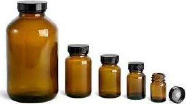 Sticla 5 ml bruna de la Plastic Prod Srl